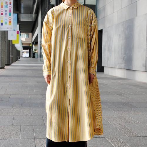 【JEAN_NERET】オーバーサイズシャツワンピース