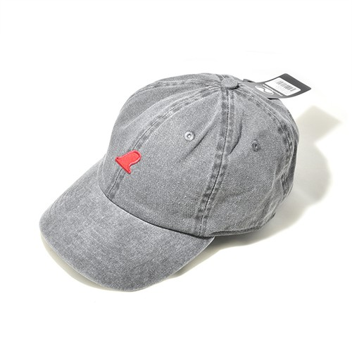 RED FIN CAP - FADE BLACK