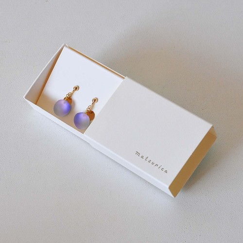 matsurica pebble イヤリング/フック(Ph-31)