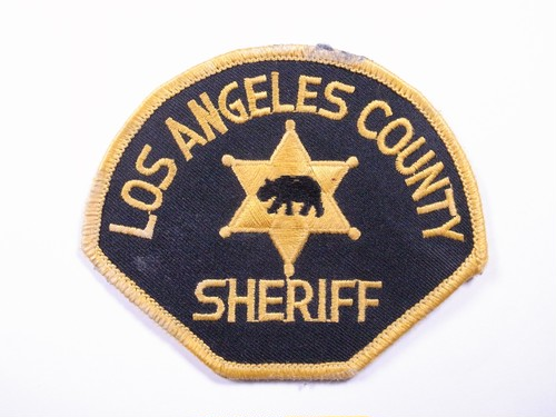 "PATCH""LOS ANGELES COUNTRY SHERIFF"""