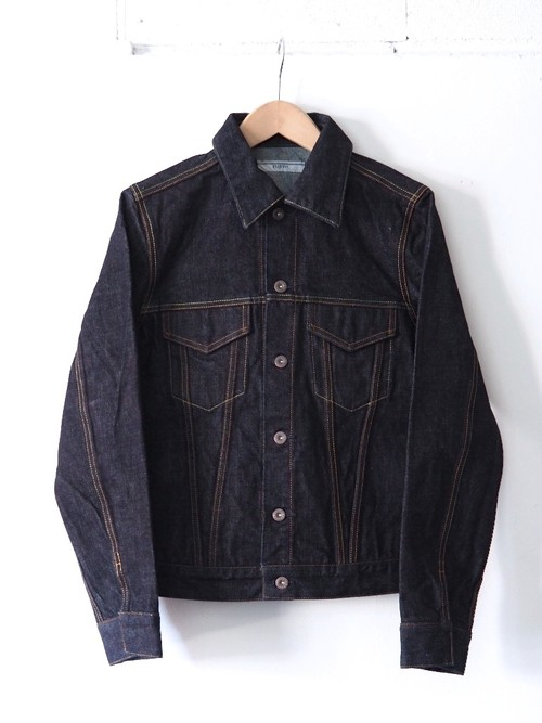 FUJITO Denim Jacket Indigo Blue