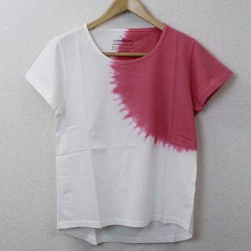 逆さ絞り段染(ピンク) [17L-D01-PK]/レディース