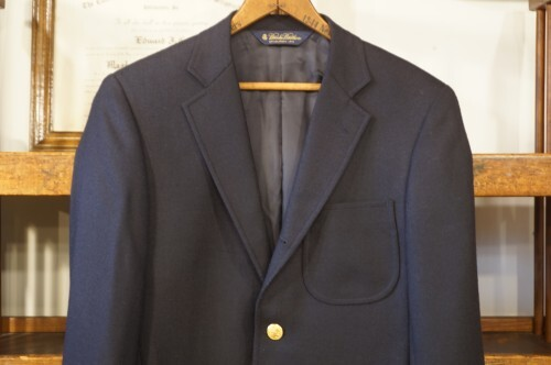 Brooks Brothers three-button wool Blazer