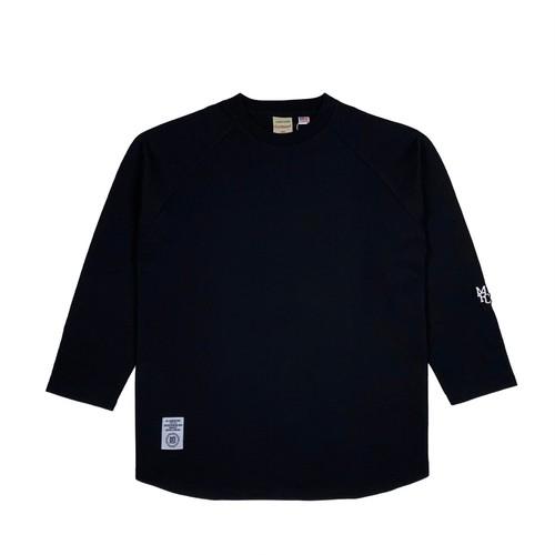 MFC STORE x Goodwear 7L RAGLAN TEE / BLACK x BLACK