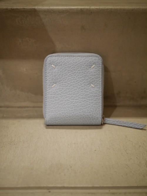 MAISON MARGIELA /  square zipper wallet (SKY)