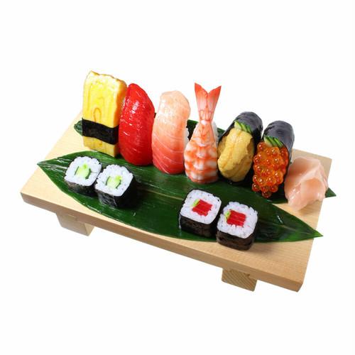 [9022]食品サンプル屋さんのタブレットスタンド(寿司盛り合わせ)【メール便・ラッピング不可】