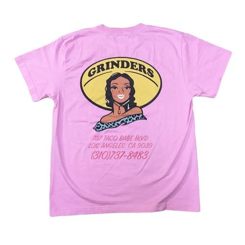 GRINDERS Taco Babe Tee (Pink)