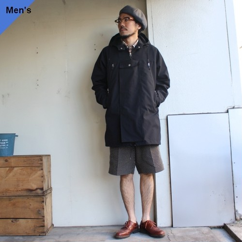 ENDS and MEANS  Field Half Coat EM201J001 ブラック
