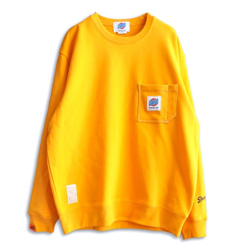 【DARGO】Working Pocket Sweat Shirt (GOLD YELLOW)
