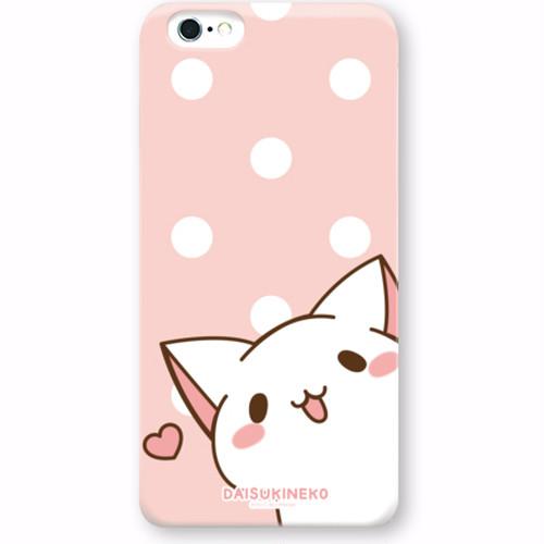 iPhoneケース/だいすきネコちゃん