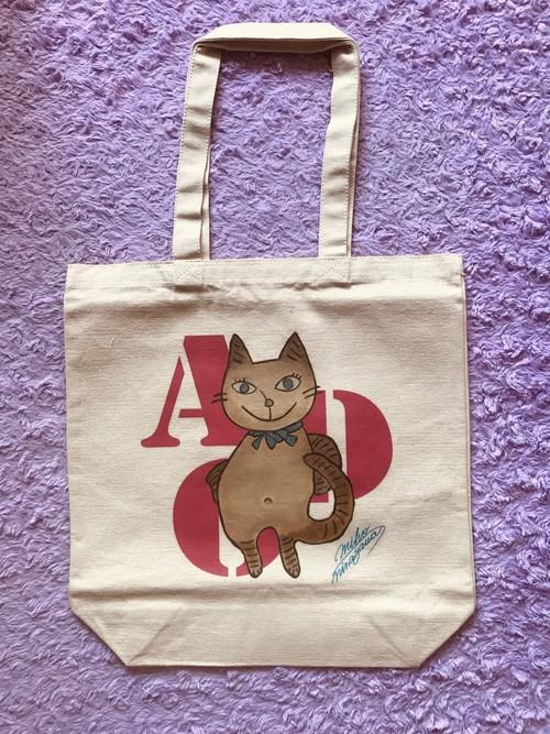 トートバッグ - 猫のアドちゃん - L