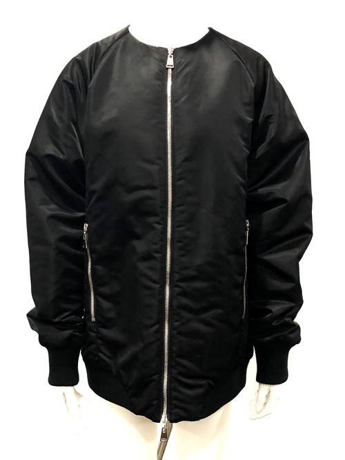 Panel Blouson (Black)
