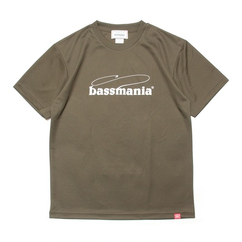 bassmania logo dry Tシャツ  [OLV]
