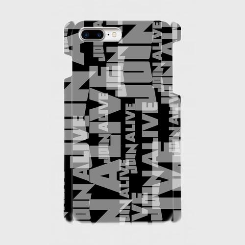 (通販限定)【送料無料】iPhone7Plus_スマホケース ランダム_ブラック
