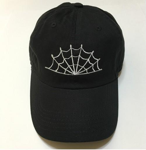 SPIDERWEB CAP (BLACK)