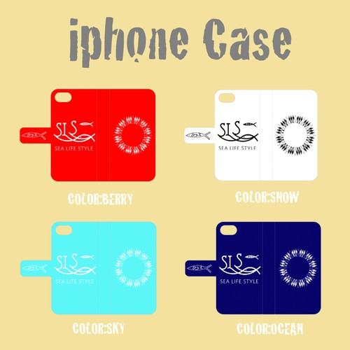 iPhone CASE / 全4色 (受注制作)