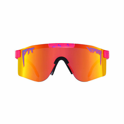 PIT VIPER - THE RADICAL POLARIZED  / Polarized Rainbow Mirror(偏光レンズ)  / DOUBLE WIDE