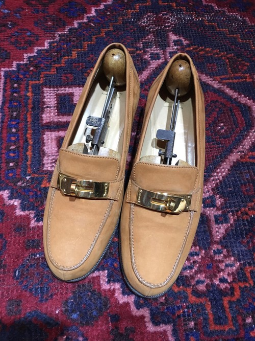.HERMES KELLY LEATHER LOAFER/エルメスケリーレザーローファー 2000000038858