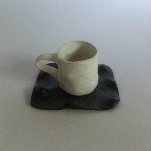 板作りカップ &ソーサー