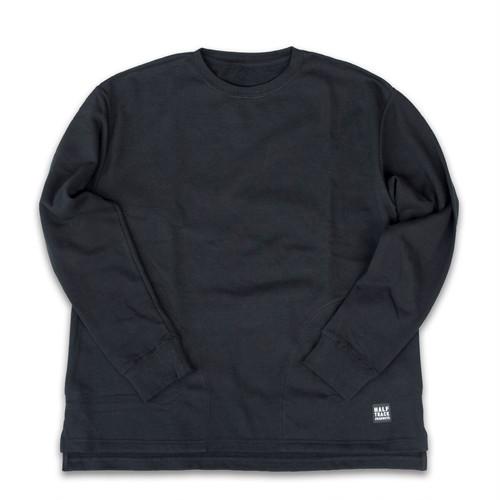 HALFTRACK PRODUCTS ポケット付きロングスリーブTシャツ ハーフトラックプロダクツ(ブラック)