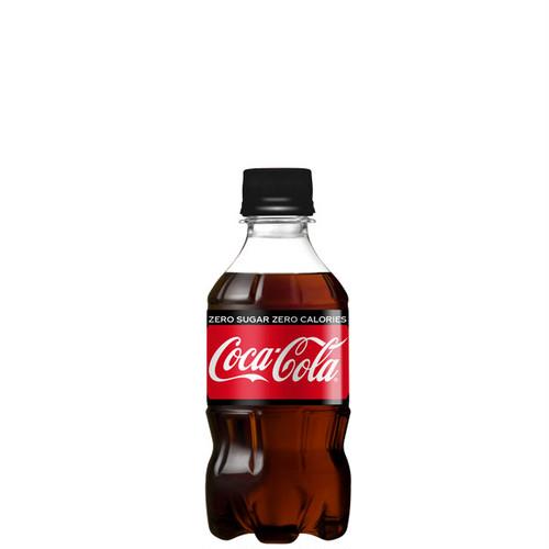 [メーカー直送]【2ケースセット】コカ・コーラゼロシュガー 300mlPET [送料無料]