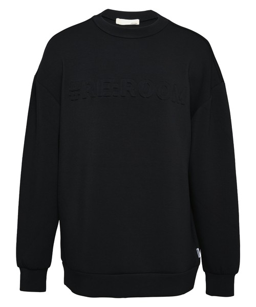 EMBOSS LOGO SWEAT BIG TRAINER[REC424]