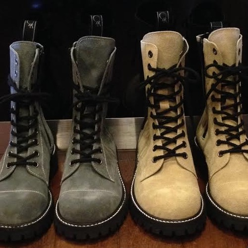 "VIRGO / ヴァルゴ | MILITARIA SPECIAL BOOTS "" NEO "" - Beige -"