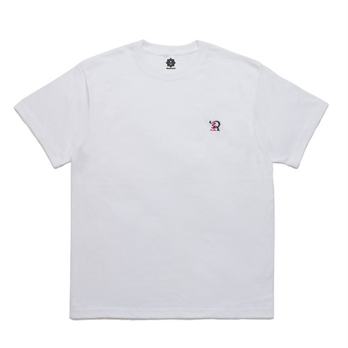 RUEED LOGO EMBROIDERY T-SHIRT / WHITE