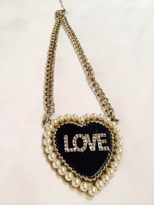 "selected for TOKYO ICON ""LOVE""neckless"