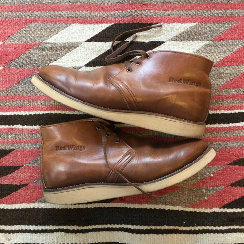80's RED WING 595 CHUKKA BOOTS / Used