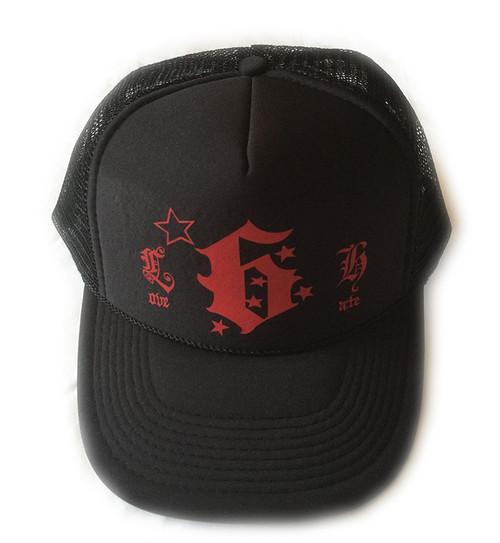 """SSM-mesh CAP """"LOVE/HATE""""(ブラック)"""