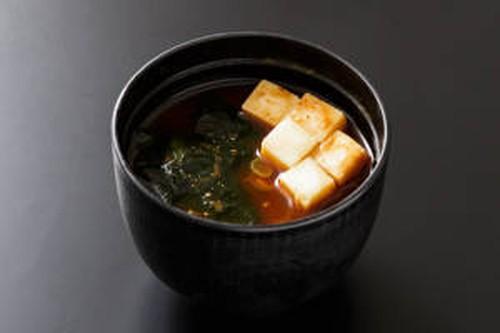 豆腐の赤出味噌汁(テイクアウト専用)