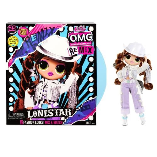 送料無料  L.O.L. Surprise! O.M.G. Remix Lonestar Fashion Doll – 25 Surprises with Music