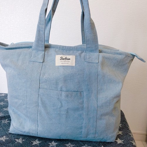 Tote bag M - Stone wash