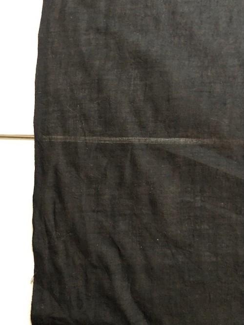 Khadi cotton  ブラック/ うっすら