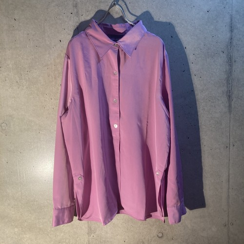 poly pullover shirt