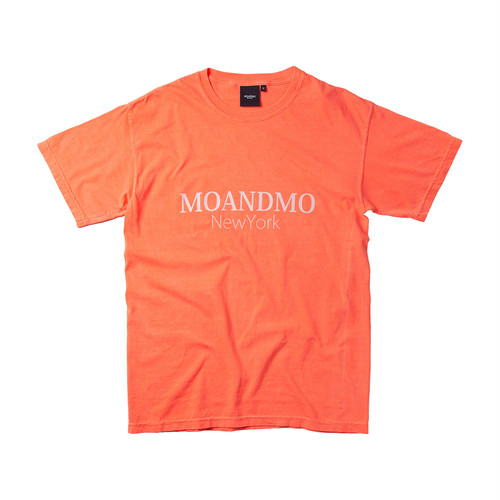 MOANDMO LOGO Tee / Washed Coral