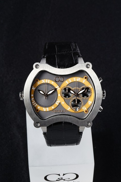 NEW Big Time GRAND 57mm Chrono 2Time Zone 【Stainless Steel】
