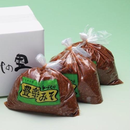 たくみの里 豊楽味噌1kg×3袋