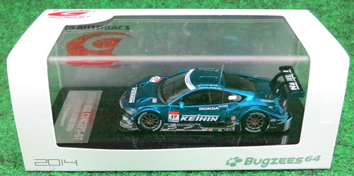 Bugzees 1/64 SUPER GT 2014 ケイヒン NSX No.17