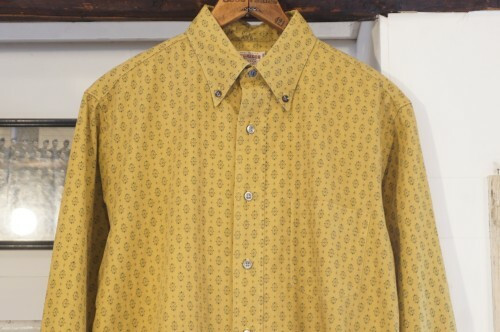 early 60's McGREGOR finely patterned Shirt