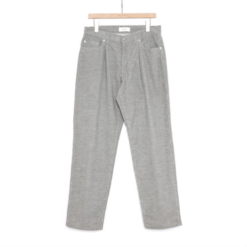 WELLDER【ウェルダー】One-Tack & Five-Pockets Tapered Trousers (GRAY)