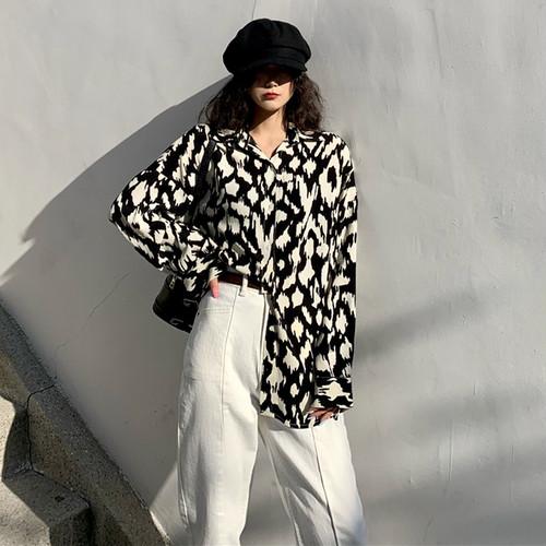 chic カウパターンシャツ c1420