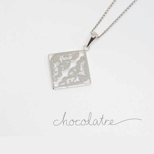 chocolatre「ガトー」シルバーペンダント