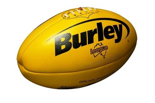 オーストラリアンフットボール AFL Japan公式球(黄)