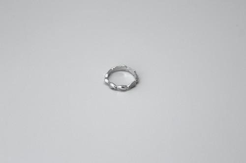 """連なる泡沫のリング (silver925)【2020""""SKIN FORM""""】"""