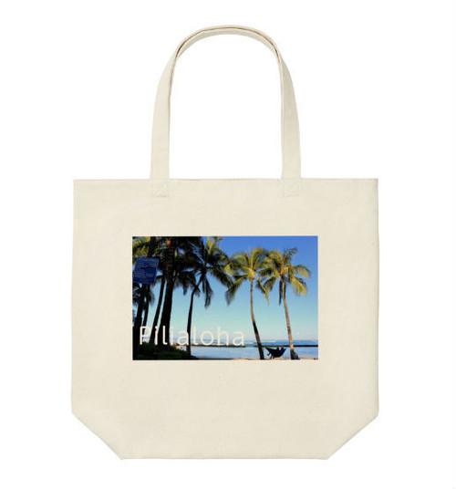 ハワイアントートバッグ デザインしました。ユニクロさんで販売中