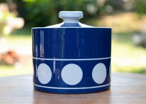 T.G.GREEN Jersey Blue ジャージブルー シュガーポット イギリス