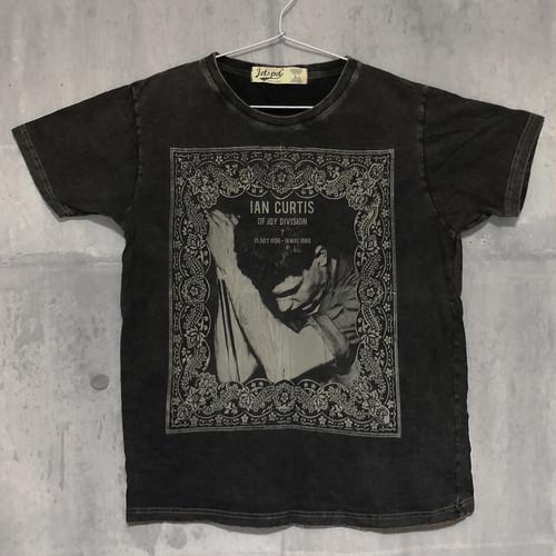 【送料無料 / ロック バンド Tシャツ】 JOY DIVISION / Ian Curtis Men's T-shirts L ジョイ・ディヴィジョン / イアン・カーティス メンズ Tシャツ L