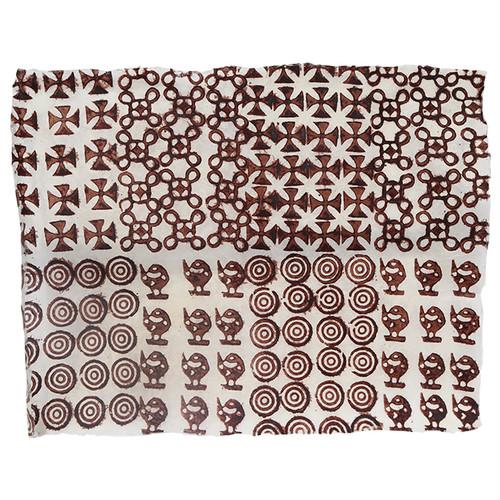 アシャンティ族のアディンクラの手漉き紙 9 / Asante Adinkra Handmade Paper 9